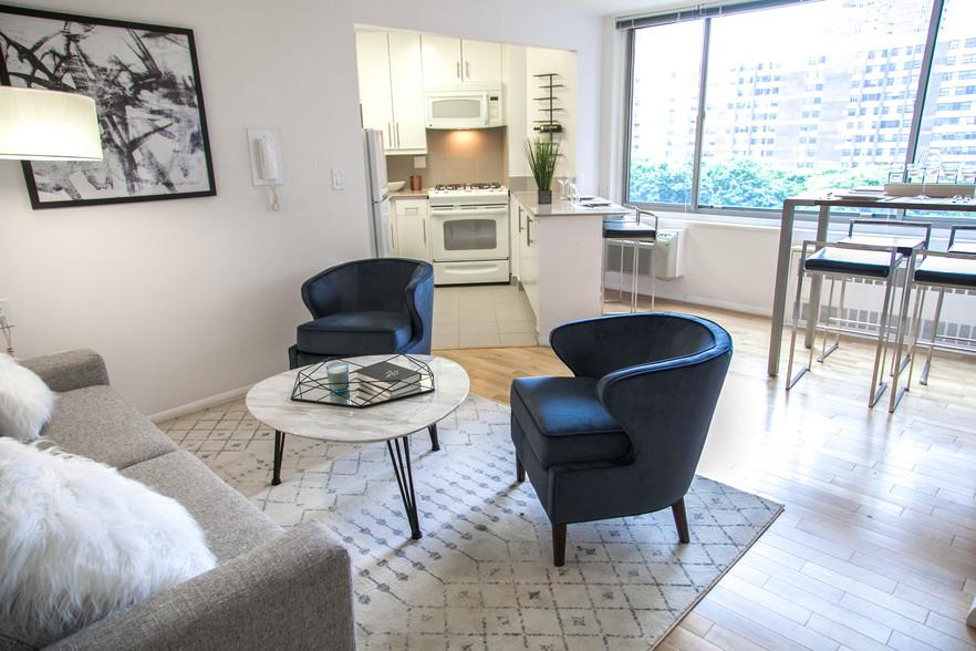 Living Room at 470 Second Avenue Apartment