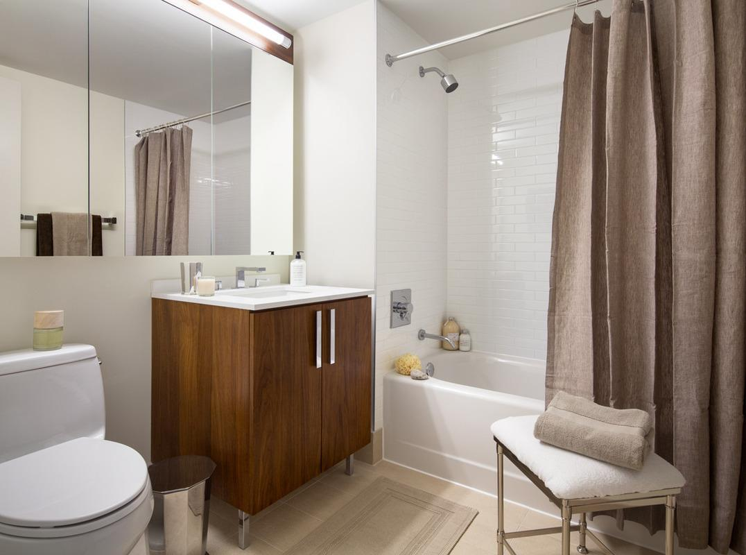 Bathroom at Riverwalk Point - Apartments for rent in NYC