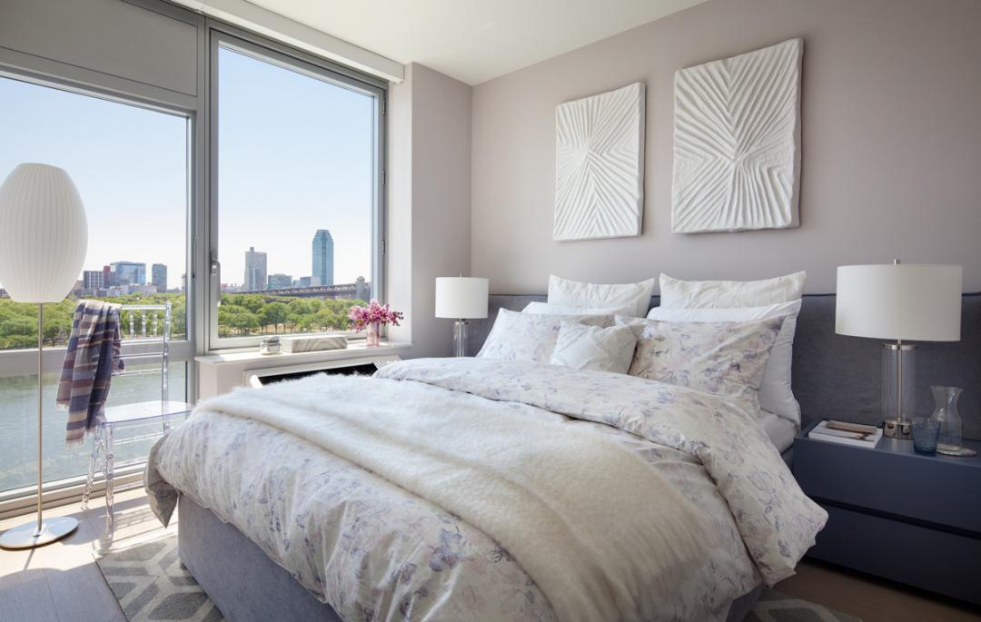 Bedroom at Riverwalk Point - Apartments for rent in NYC