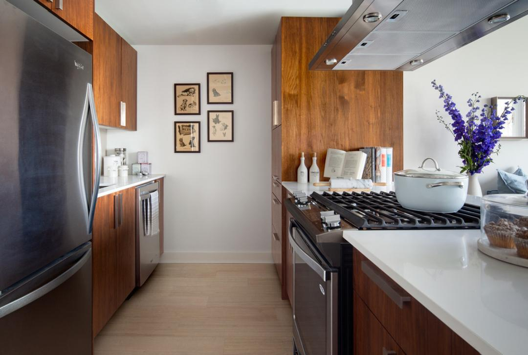Kitchen at Riverwalk Point - Apartments for rent in NYC