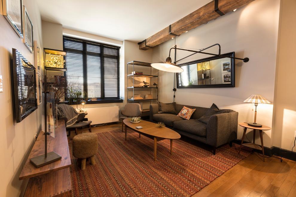 487 Keap Point Apartments- Living Room