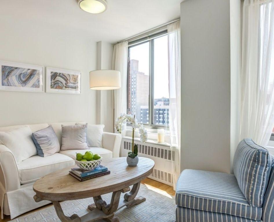 Living Room at 500 Second Avenue Apartment