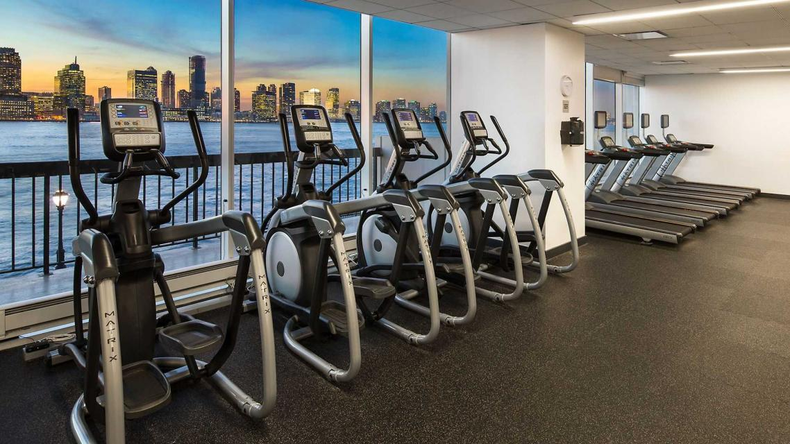 The Building's State-of-the-Art Fitness Center at 500 Gateway Plaza