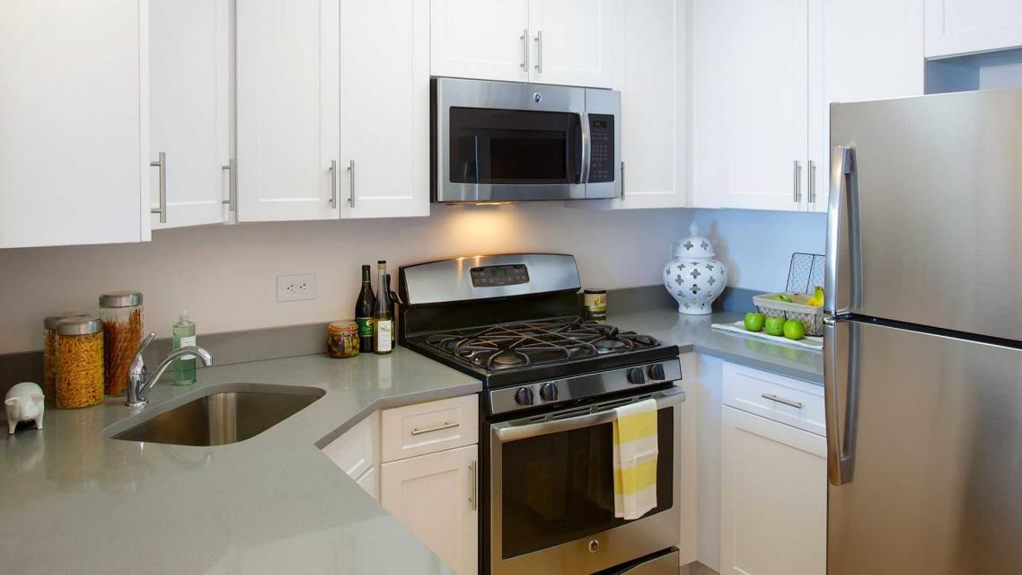 500 Gateway Plaza Apartment Kitchen