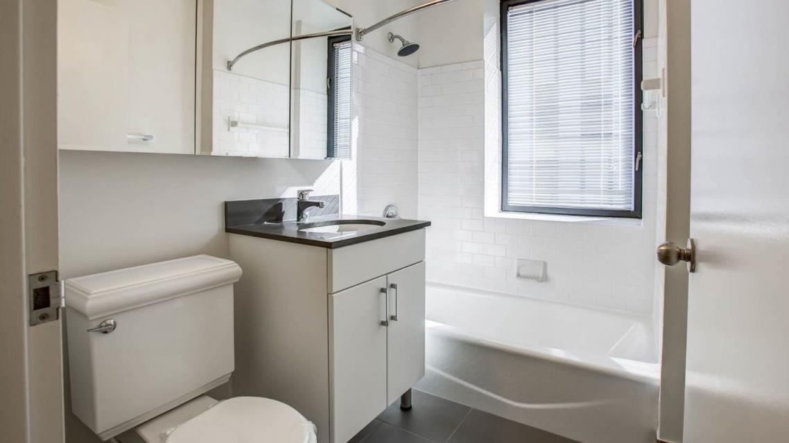 505 West 54th Street apartments for rent Bathroom