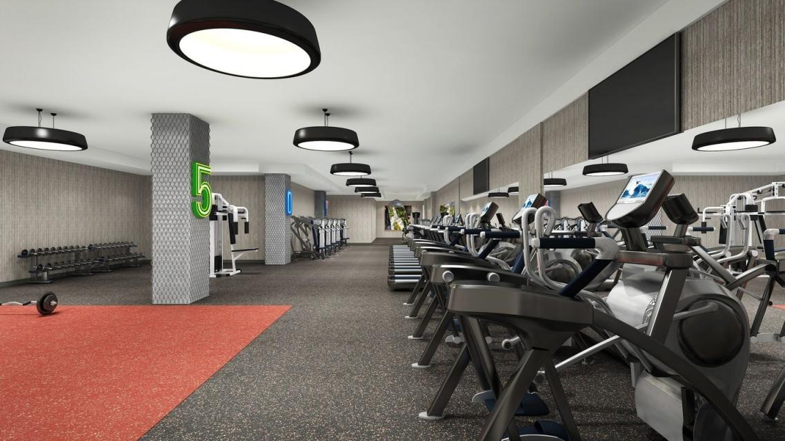 Fitness Center at 507 West 28th Street in Chelsea - Apartments for rent