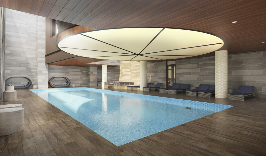 Indoor Pool at 507 West 28th Street in NYC - Apartments for rent