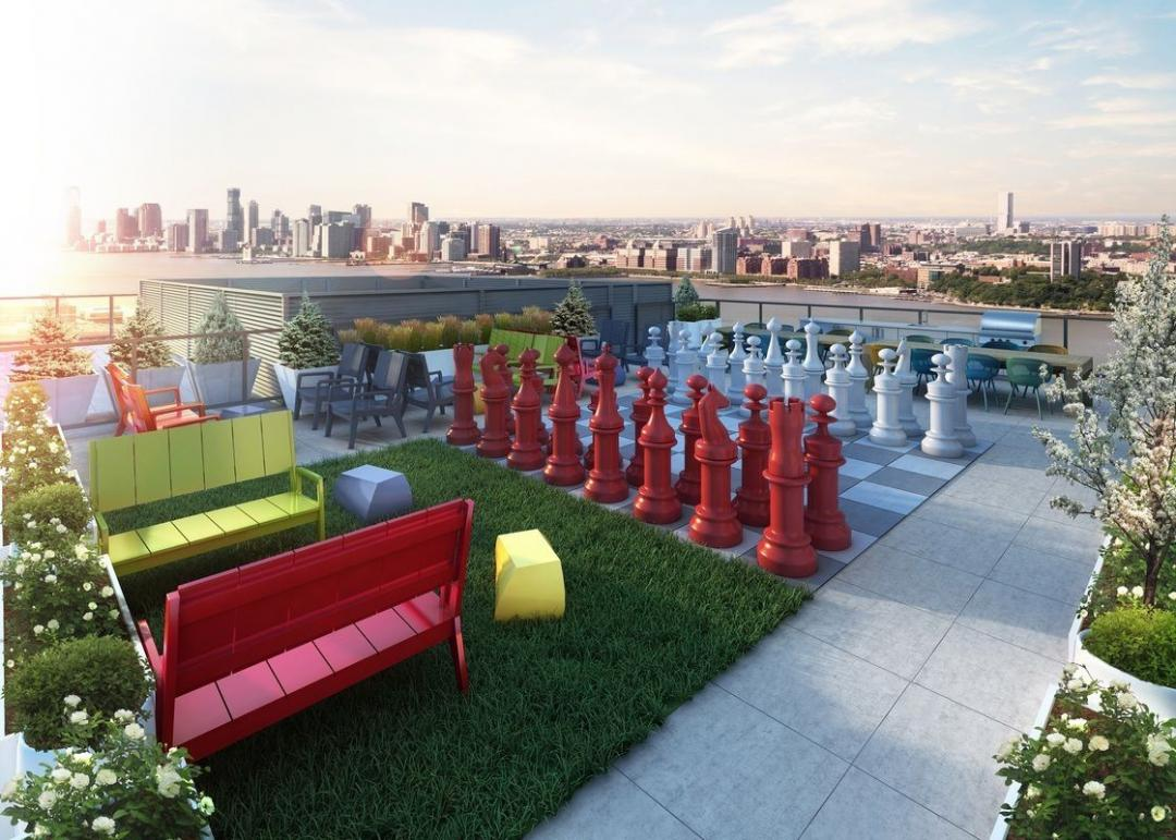 Rooftop Deck at 507 West 28th Street in Manhattan