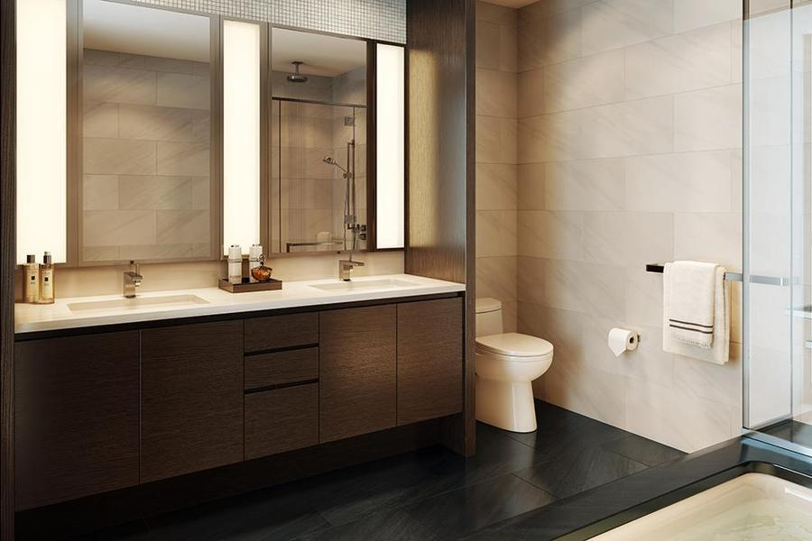 Rentals at 50 Riverside Boulevard in NYC - Bathroom