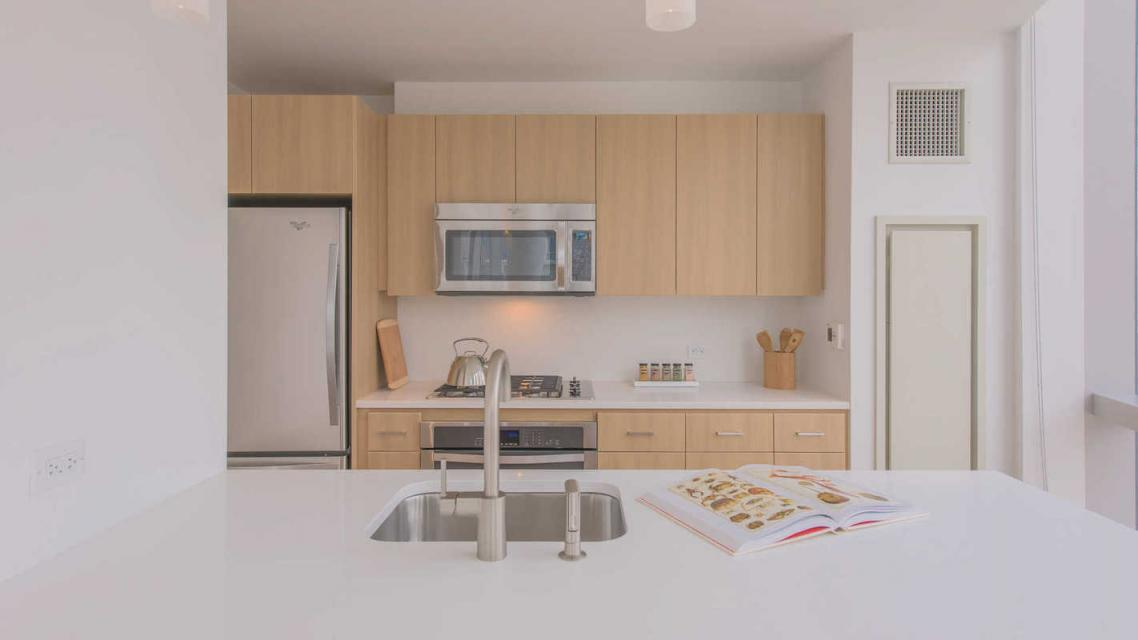 Open Kitchen at 50 East 28th Street in Manhattan