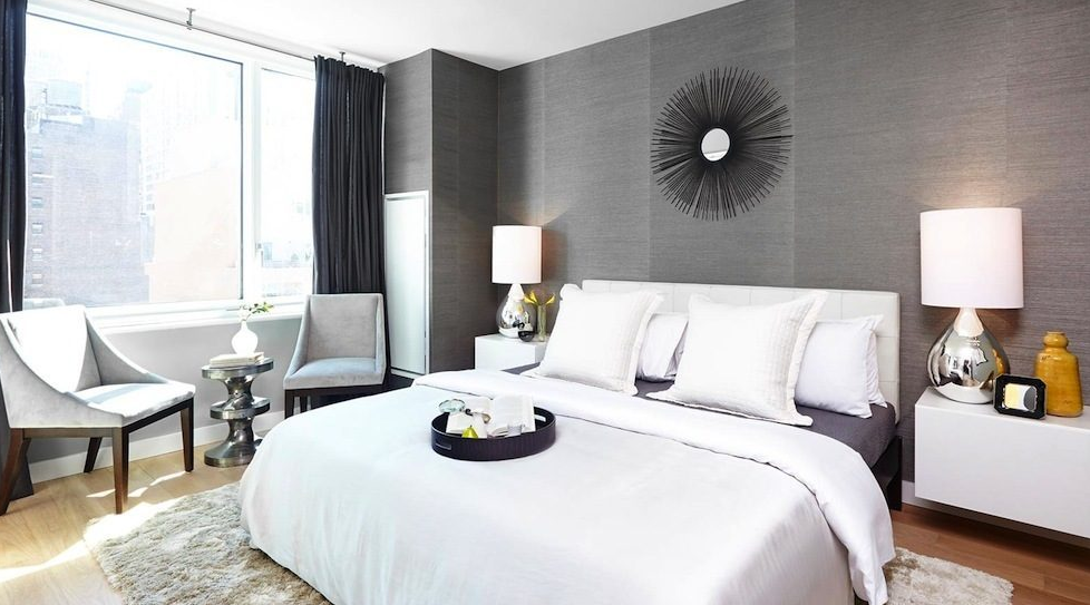 515 Ninth Avenue Cassa Residences NYC Luxury Rentals Bedroom