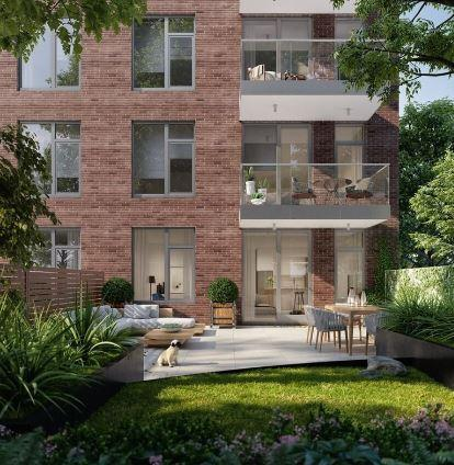 Rentals at 524 East 14th street - the garden