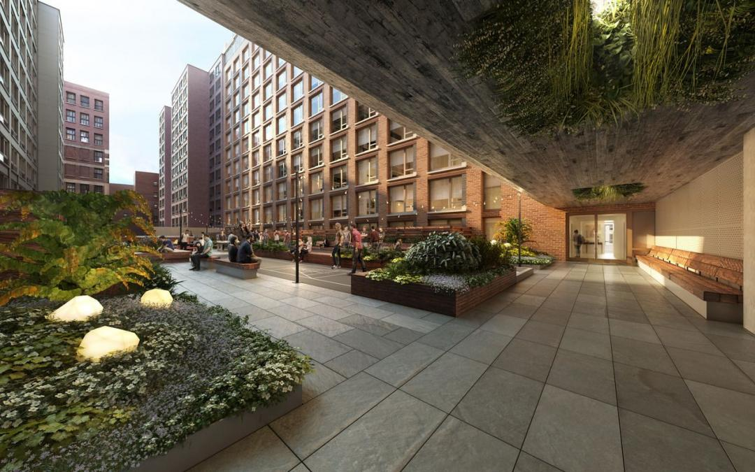 Terrace at 525 West 52nd Street in NYC - Apartments for rent