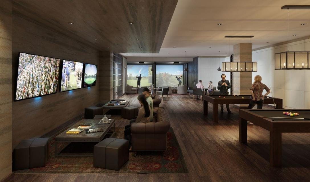 Sport Lounge at 525 West 52nd Street in Manhattan