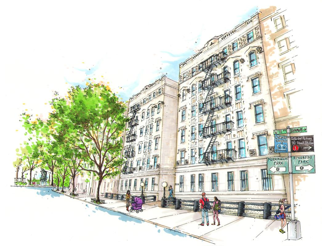 Apartments for rent at 526 West 111th Street in Morningside Heights
