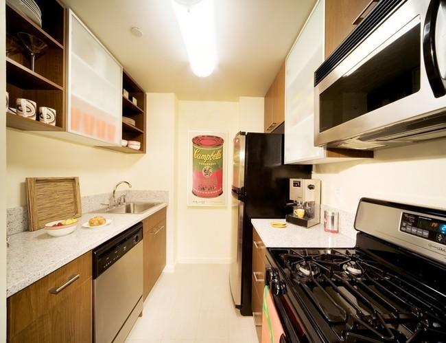 The Tate apartments for rent Kitchen