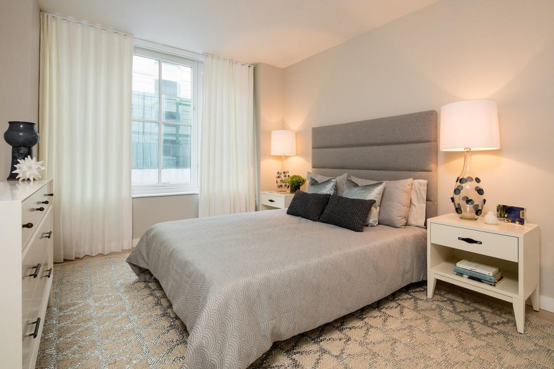Bedroom at 535 West 43rd Street in NYC
