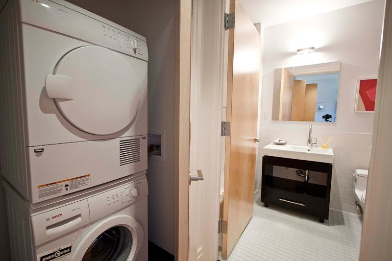 Bathroom at Mercedes House in NYC - Apartments for rent