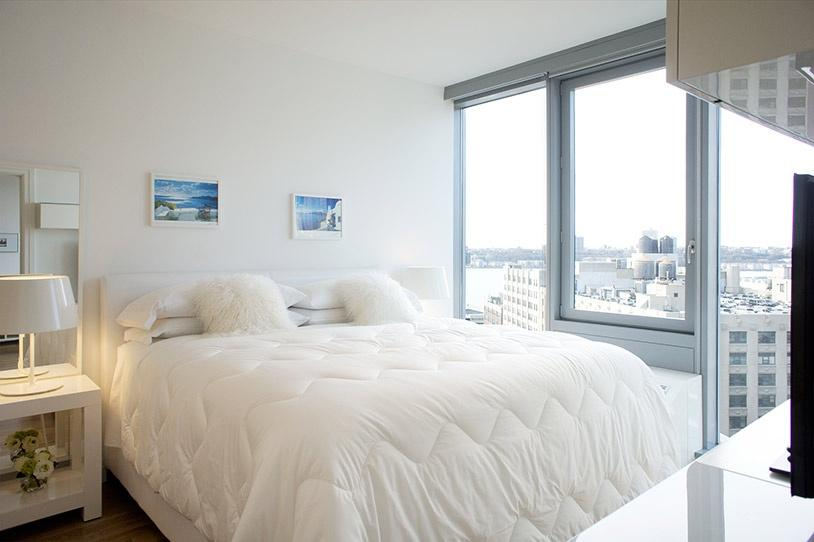 Bedroom at Mercedes House in NYC - Apartments for rent