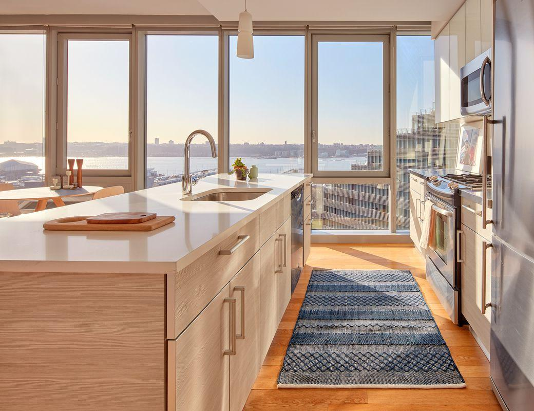 Kitchen at Mercedes House in NYC - Apartments for rent