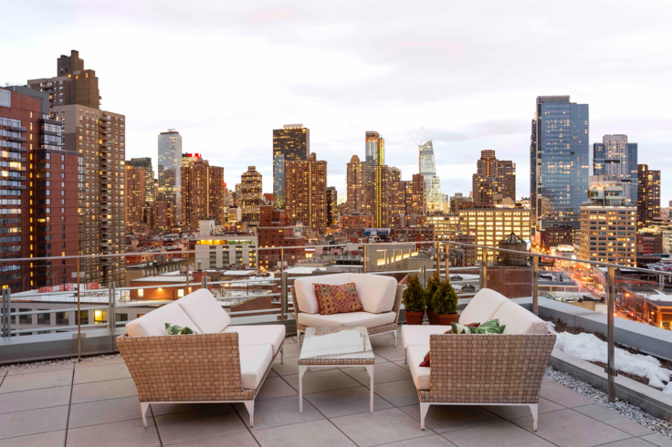 View at Mercedes House in NYC - Apartments for rent