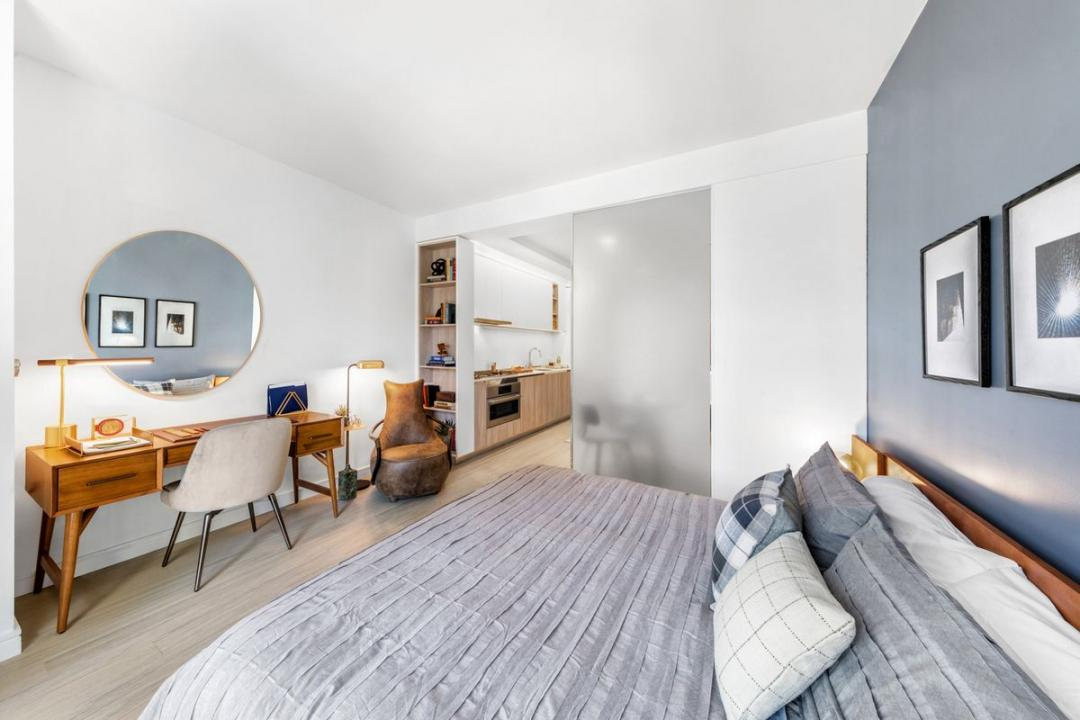 Bedroom at Oskar in NYC - Apartments for rent