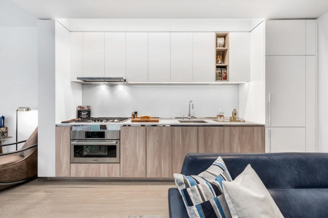 Kitchen at Oskar in NYC - Apartments for rent
