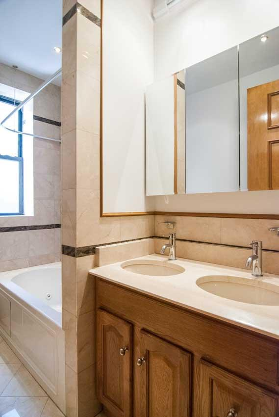 Bathroom at 575 West End Ave in Upper West Side - Condos for rent