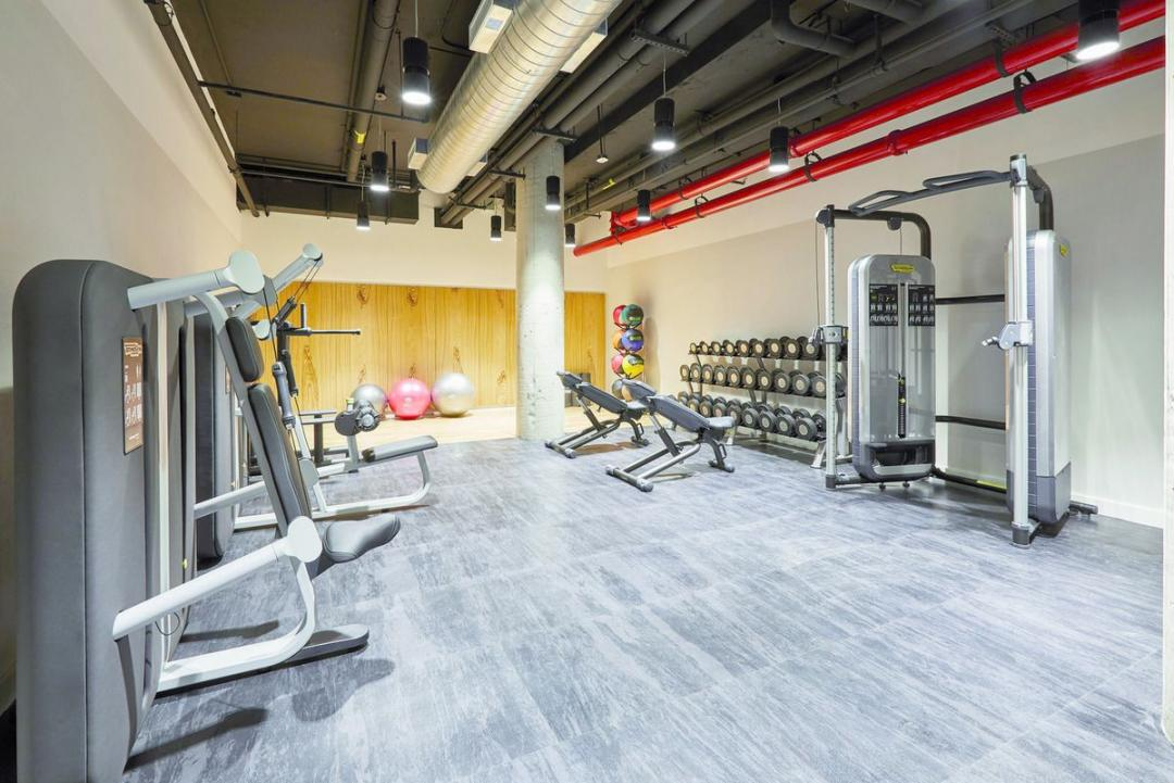 Fitness Center at 600 West 58th Street in Hell's Kitchen