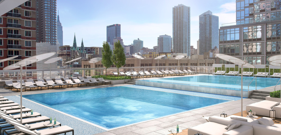 605 West 42nd Street - Swimming Pool