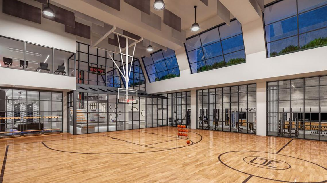 Basketball Court at 606 West 57th Street in Midtown West - Apartments for rent