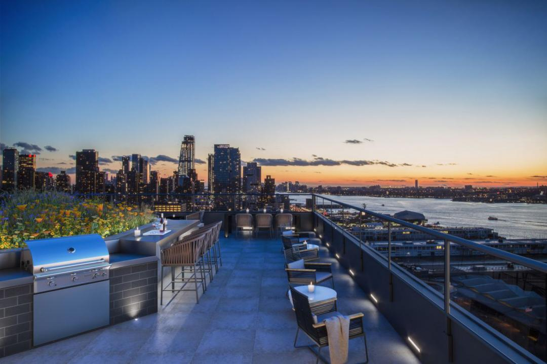 Rooftop Terrace at 606 West 57th Street in Midtown West - Apartments for rent