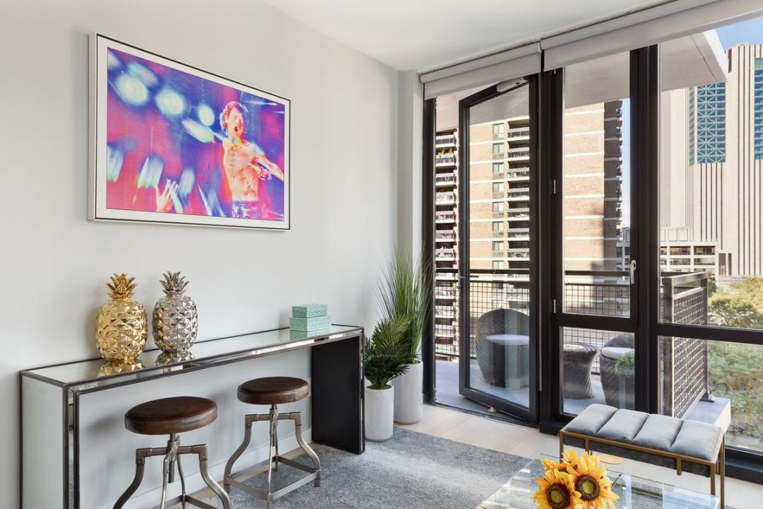 Rentals at 60 Fulton Street in Financial District - Balcony