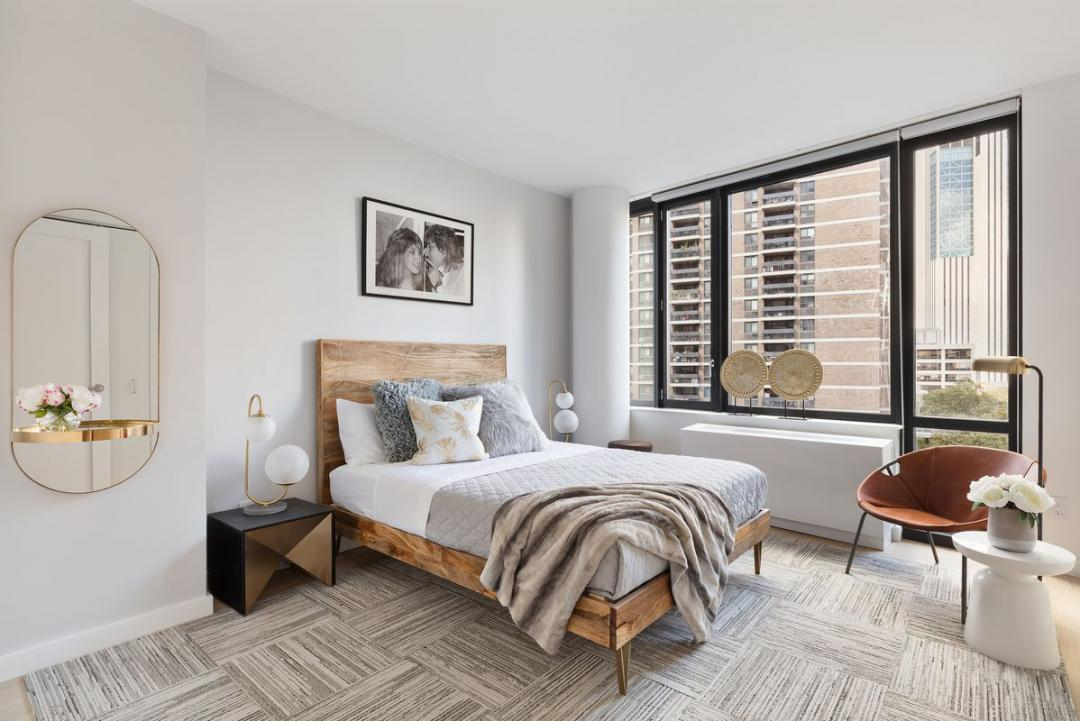Rentals at Exhibit in Financial District - Bedroom