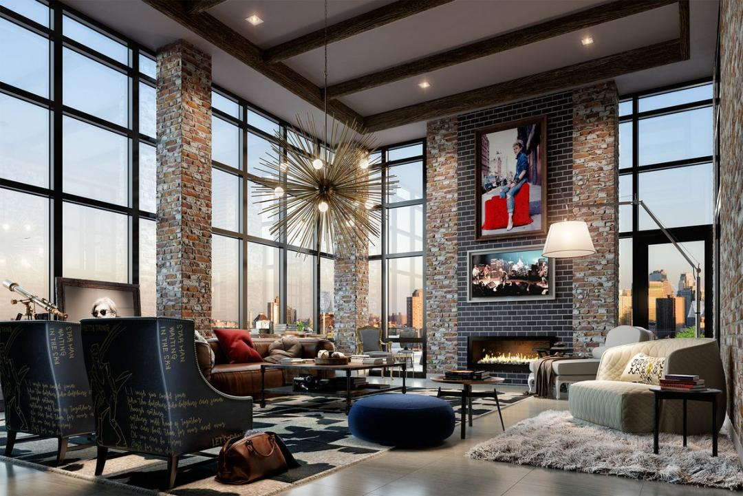 Rentals at 60 Fulton Street in Financial District - Lounge