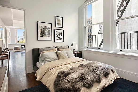 640 Noho Bedroom - Rent Luxury Lofts in Manhattan