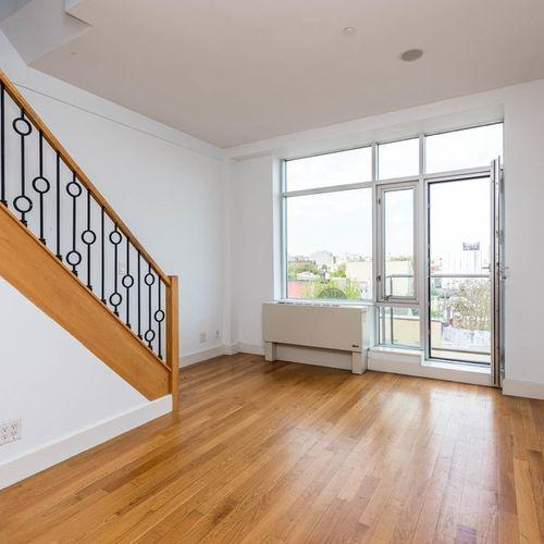 Living Room - Apartments for rent at 65 Ainslie Street in NYC