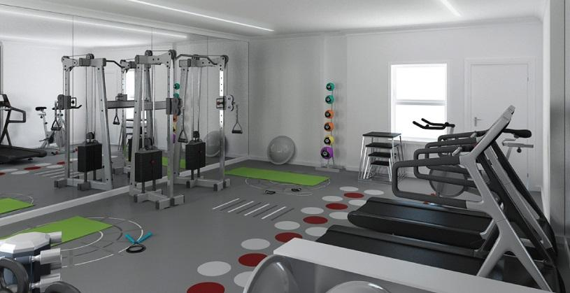 Wide variety of amenities at 65 Bank Street in NYC - Fitness Center