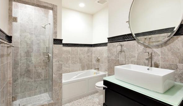 66 Franklin Street Bathroom - Rent Luxury Lofts, Tribeca, NYC