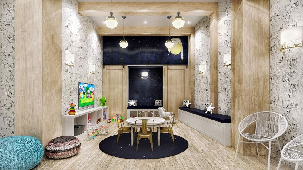 Children's playroom at The Crest Lofts - NYC Apartments for rent