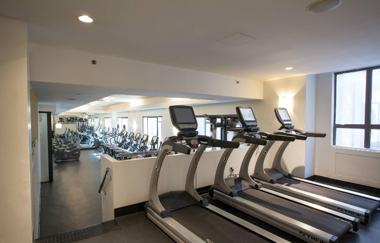 Fitness room at 67 Wall Street - NYC Apartments for rent