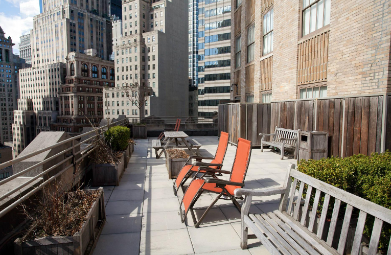 Rooftop at The Crest Lofts - NYC Apartments for rent