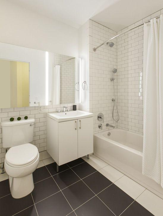 Bathroom at 70 Pine Street - NYC Apartments for rent