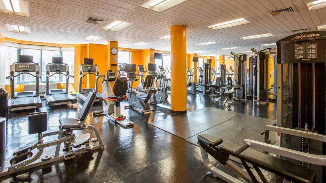 750 Columbus Avenue Gym - Manhattan Rental Apartments