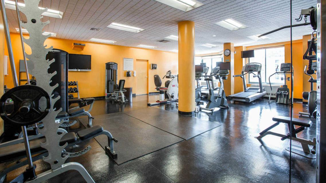750 Columbus Avenue Gym - 750 Columbus Avenue apartments for rent