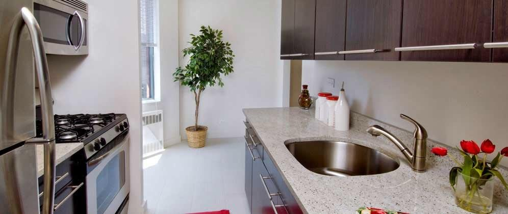 Kitchen of Rental Apartments at  750 Columbus Avenue
