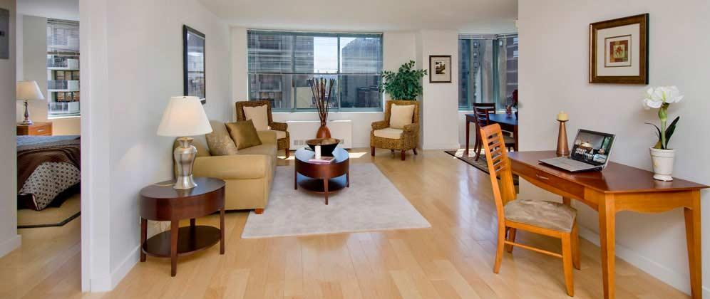 750 Columbus Avenue apartments Living Room