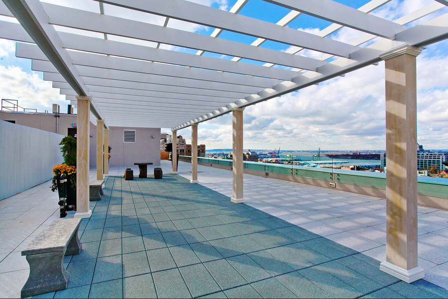 Rooftop View of 75 Clinton Street, Apartments for Rent