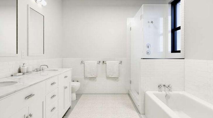Bathroom at 838 West End Avenue in NYC - Apartments for rent