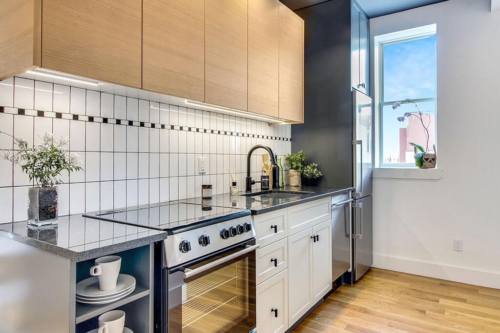 Kitchen - Apartments for rent at 845 Grand Street in NYC